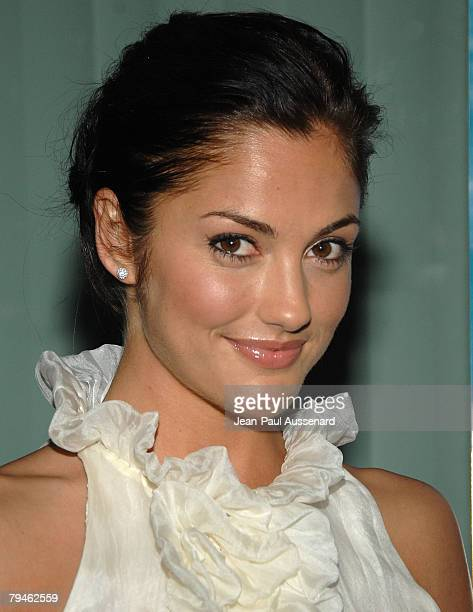 """Actress Minka Kelly arrives at An Evening with """"Friday Night Lights"""" held at the Leonard Goldenson theatre on January 31, 2008 in North Hollywood,..."""