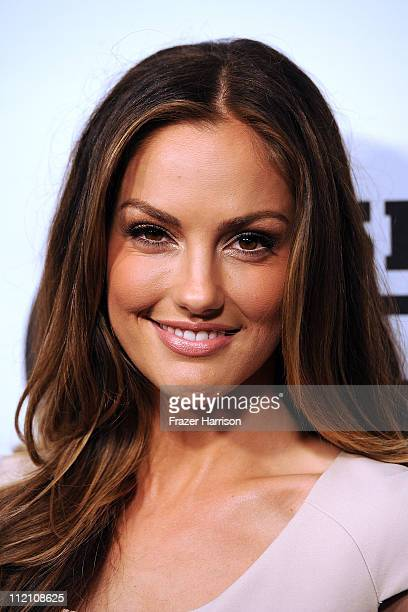 "Actress Minka Kelly arrives at Gatorade's ""G Series Fit"" Launch Party at the SLS Hotel on April 12, 2011 in Los Angeles, California."