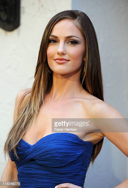 Actress Minka Kelly arrives at Spike TV's 5th annual 2011 Guys Choice Awards at Sony Pictures Studios on June 4 2011 in Culver City California