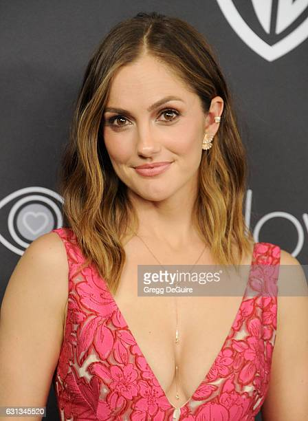 Actress Minka Kelly arrives at the 18th Annual PostGolden Globes Party hosted by Warner Bros Pictures and InStyle at The Beverly Hilton Hotel on...