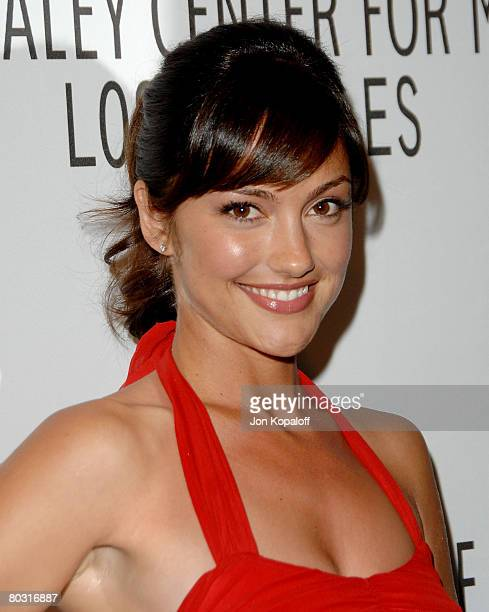"""Actress Minka Kelly arrives at the Evening with """"Friday Night Lights"""" part of the 25th Annual William S. Paley Television Festival at the Arclight..."""