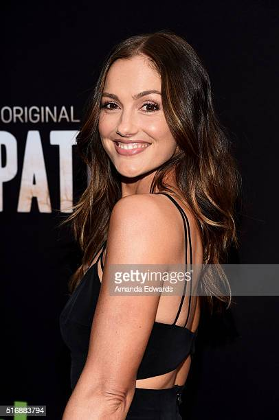 Actress Minka Kelly arrives at the premiere of Hulu's The Path at the ArcLight Hollywood on March 21 2016 in Hollywood California