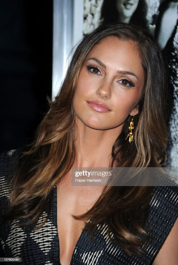 Actress Minka Kelly arrives at the screening of Screen Gems' 'Country Strong' at The Academy of Motion Picture Arts & Sciences on December 14, 2010 in Beverly Hills, California.