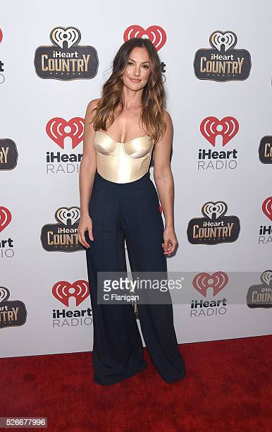 Actress Minka Kelly arrives to the 2016 iHeartCountry Festival at The Frank Erwin Center on April 30 2016 in Austin Texas