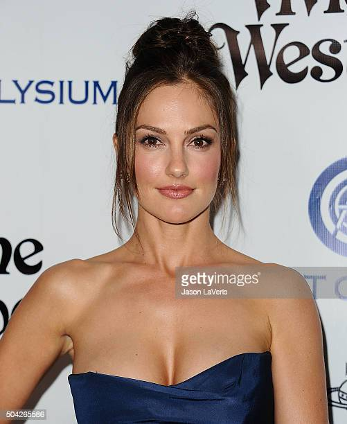Actress Minka Kelly attends Art of Elysium's 9th annual Heaven Gala at 3LABS on January 9 2016 in Culver City California