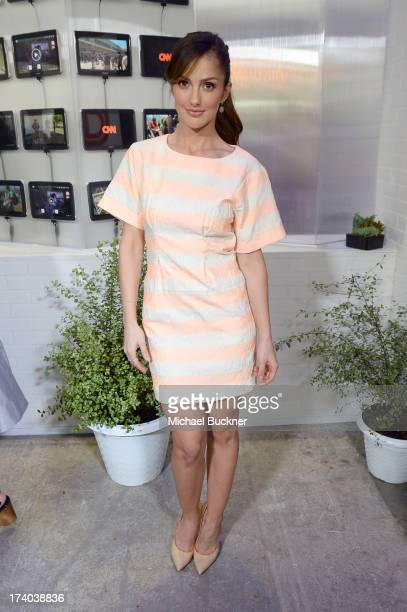 Actress Minka Kelly attends Day 2 of The Samsung Galaxy Experience on July 19, 2013 in San Diego, California.