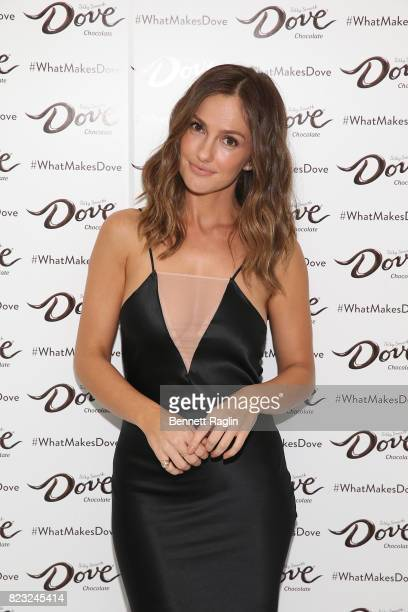 Actress Minka Kelly attends Dove Chocolate Journey series screening at The New Museum on July 26 2017 in New York City
