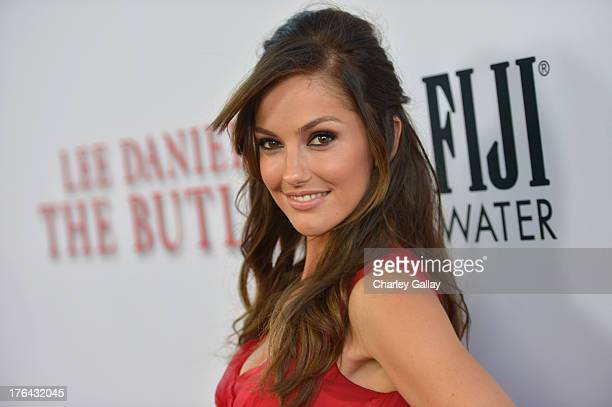 Actress Minka Kelly attends LEE DANIELS' THE BUTLER Los Angeles premiere, hosted by TWC, Budweiser and FIJI Water, Purity Vodka and Stack Wines, held...