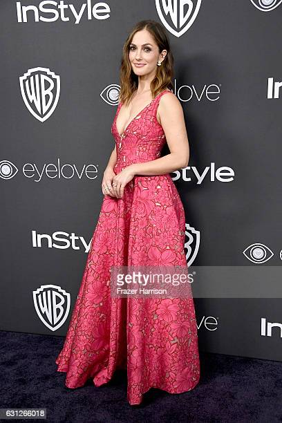 Actress Minka Kelly attends the 18th Annual Post-Golden Globes Party hosted by Warner Bros. Pictures and InStyle at The Beverly Hilton Hotel on...