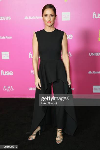 Actress Minka Kelly attends The ALMAs 2018 - Press Room on November 04, 2018 in Los Angeles, California.