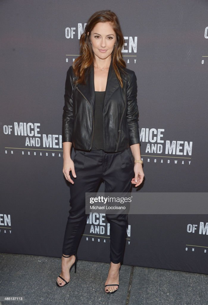 """Of Mice And Men"" Broadway Opening Night - Arrivals & Curtain Call"