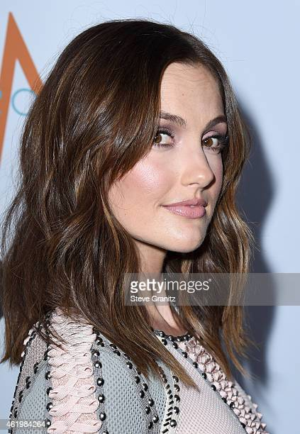 Actress Minka Kelly attends The Daily Front Row's 1st Annual Fashion Los Angeles Awards at Sunset Tower Hotel on January 22 2015 in West Hollywood...