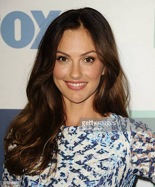 Actress Minka Kelly attends the FOX AllStar Party on August 1 2013 in West Hollywood California