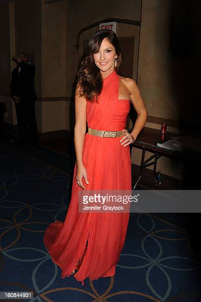 Actress Minka Kelly attends The Heart Truth 2013 Fashion at Hammerstein Ballroom on February 6 2013 in New York City
