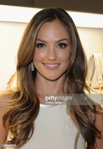 Actress Minka Kelly attends the opening of the new Michael Kors boutique on Robertson with an evening hosted by Petra Flannery benefitting St. Jude...