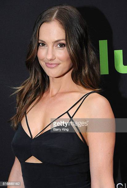 Actress Minka Kelly attends the premiere of Hulu's 'The Path' at ArcLight Hollywood on March 21 2016 in Hollywood California
