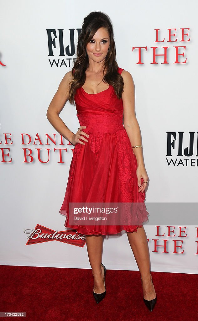 Actress Minka Kelly attends the premiere of the Weinstein Company's 'Lee Daniels' The Butler' at Regal Cinemas L.A. Live on August 12, 2013 in Los Angeles, California.