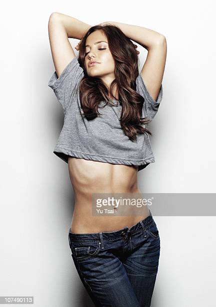 Actress Minka Kelly poses for a portrait session in Los Angeles for Esquire COVER IMAGE