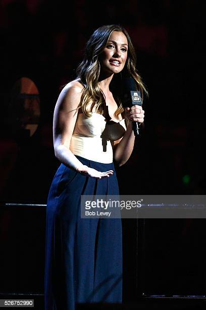 Actress Minka Kelly speaks onstage during the 2016 iHeartCountry Festival at The Frank Erwin Center on April 30 2016 in Austin Texas