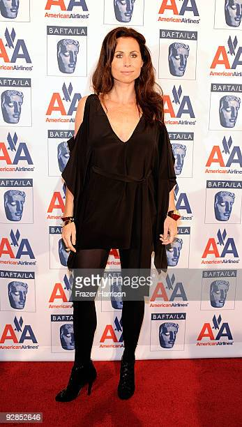 Actress Minnie Driver arrives at the 8th Annual British Academy Of Film And Television Arts Britannia Awards at the Hyatt Regency Century Plaza Hotel...