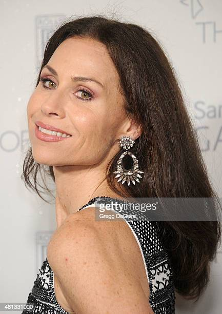 Actress Minnie Driver arrives at The Art Of Elysium's 8th Annual Heaven Gala at Hangar 8 on January 10 2015 in Santa Monica California