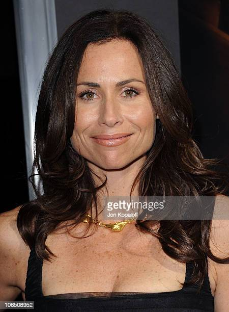 Actress Minnie Driver arrives at the Los Angeles Premiere 127 Hours at AMPAS Samuel Goldwyn Theater on November 3 2010 in Beverly Hills California