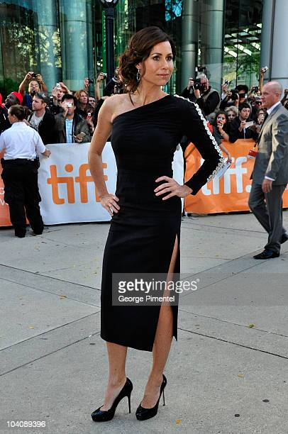 Actress Minnie Driver attends Barney's Version Premiere during the 35th Toronto International Film Festival at Roy Thomson Hall on September 12 2010...