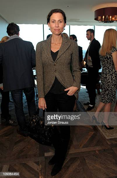 Actress Minnie Driver attends Piaget Hollywood Lunch held at Soho House on February 23 2011 in West Hollywood California