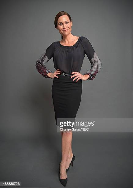 Actress Minnie Driver attends the 2014 NBCUniversal TCA Winter Press Tour Portraits at Langham Hotel on January 19 2014 in Pasadena California