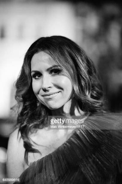 Actress Minnie Driver attends the 2017 Vanity Fair Oscar Party hosted by Graydon Carter at Wallis Annenberg Center for the Performing Arts on...