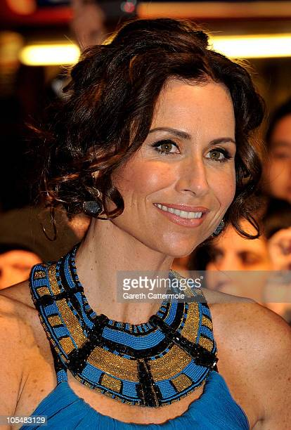 Actress Minnie Driver attends the Conviction premiere during the 54th BFI London Film Festival at the Vue West End on October 15 2010 in London...