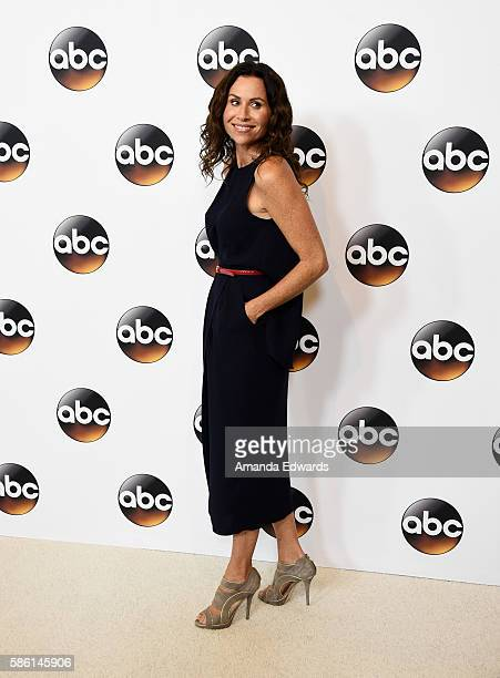 Actress Minnie Driver attends the Disney ABC Television Group TCA Summer Press Tour on August 4 2016 in Beverly Hills California