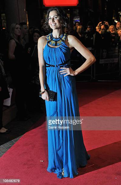 Actress Minnie Driver attends the Gala Premiere of Conviction during the 54th BFI London Film Festival at the Vue West End on October 15 2010 in...