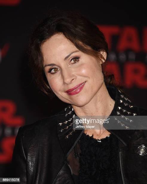 Actress Minnie Driver attends the premiere of Disney Pictures and Lucasfilm's 'Star Wars The Last Jedi' at The Shrine Auditorium on December 9 2017...