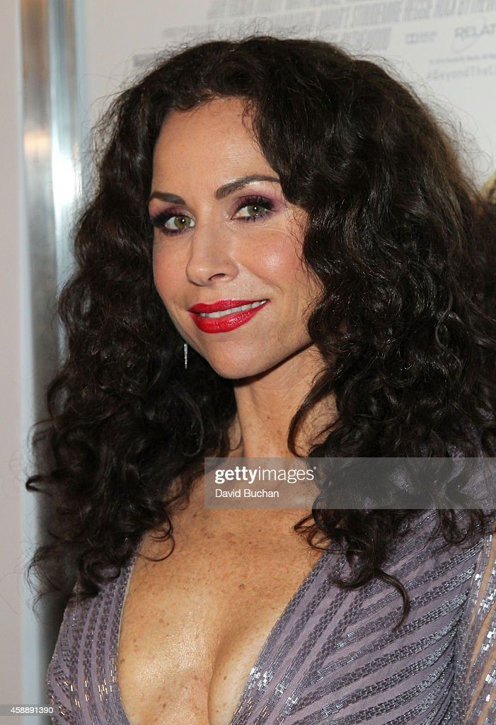 Actress Minnie Driver attends the Premiere of Relativity Studios and BET Networks' 'Beyond The Lights' at ArcLight Hollywood on November 12, 2014 in Hollywood, California.