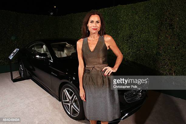 Actress Minnie Driver attends Variety and Women in Film Emmy Nominee Celebration powered by Samsung Galaxy on August 23 2014 in West Hollywood...