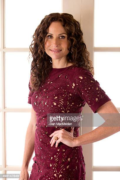Actress Minnie Driver is photographed for USA Today on May 1 2014 in Los Angeles California