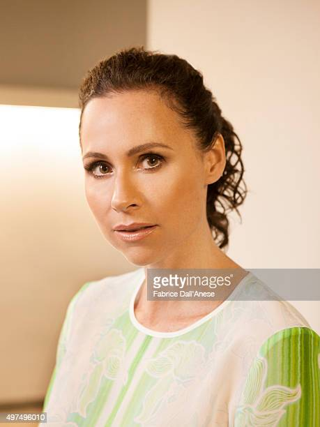 Actress Minnie Driver is photographed for Vanity Faircom on April 15 2015 in New York