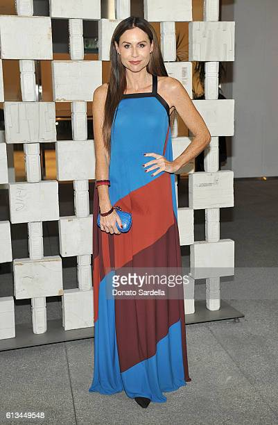 Actress Minnie Driver wearing Bottega Veneta attends the Hammer Museum 14th Annual Gala In The Garden with generous support from Bottega Veneta at...