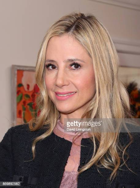 Actress Mira Sorvino attends Hallmark's 'Home Family' at Universal Studios Hollywood on October 10 2017 in Universal City California