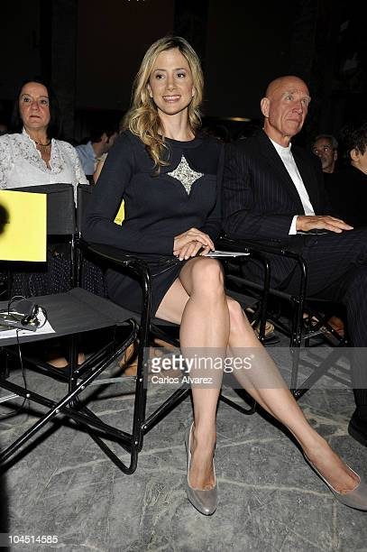 Actress Mira Sorvino attends Save the Children awards ceremony at the Circulo de Bellas Artes on September 28 2010 in Madrid Spain