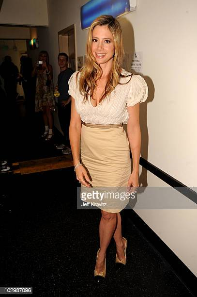 Actress Mira Sorvino attends the 2010 VH1 Do Something! Awards held at the Hollywood Palladium on July 19, 2010 in Hollywood, California.