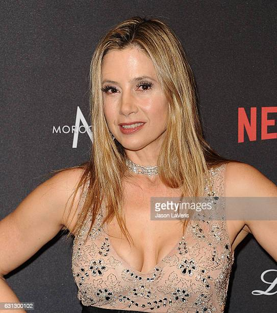 Actress Mira Sorvino attends the 2017 Weinstein Company and Netflix Golden Globes after party on January 8 2017 in Los Angeles California