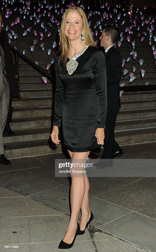 Actress Mira Sorvino attends the Vanity Fair Party 2013 Tribeca Film Festival Opening Night Party held at the New York State Supreme Courthouse on April 16, 2013 in New York City.
