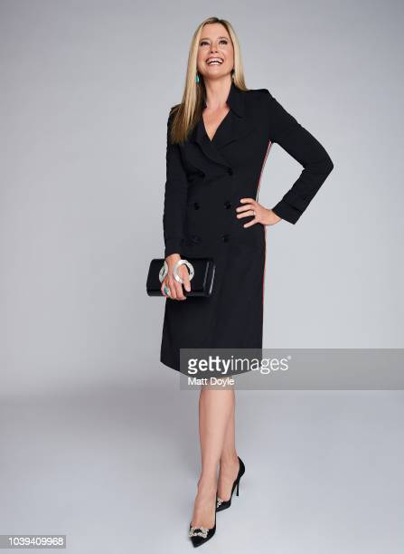 Actress Mira Sorvino of Sony Crackle's StartUp poses for a portrait during the 2018 Tribeca TV Festival on September 21 2018 in New York City