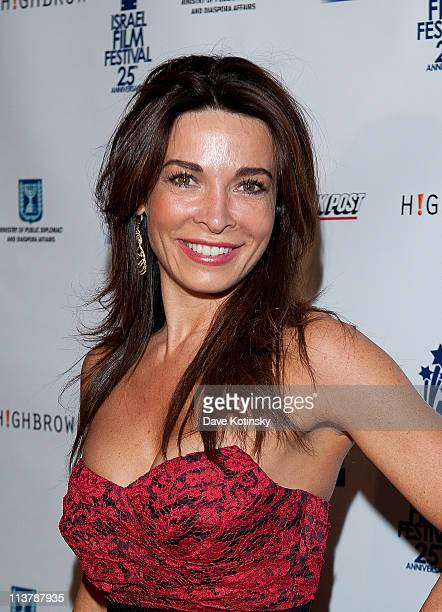 Actress Mira Tzur attends the 25th Israel Film Festival at The Plaza Hotel on May 5 2011 in New York City