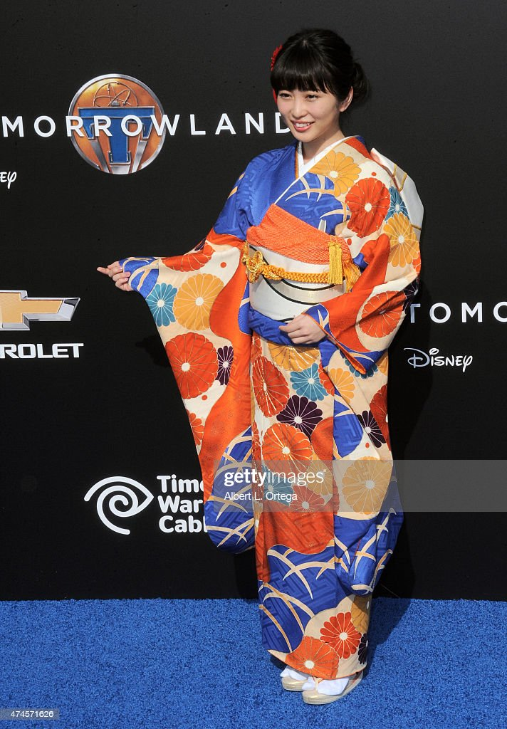 "Premiere Of Disney's ""Tomorrowland"" - Arrivals : News Photo"