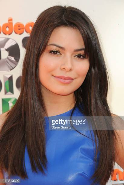 Actress Miranda Cosgrove arrives at Nickelodeon's 25th Annual Kids' Choice Awards held at Galen Center on March 31 2012 in Los Angeles California