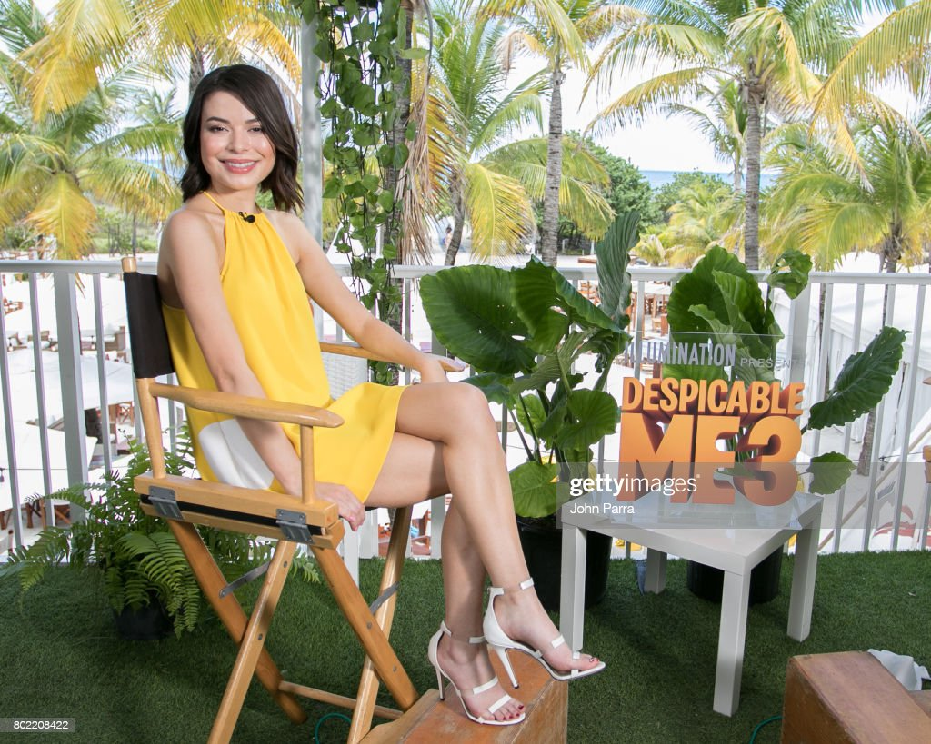 Actress Miranda Cosgrove attends 'Despicable Me 3' Press Junket at Nikki Beach on June 27, 2017 in Miami Beach, Florida.