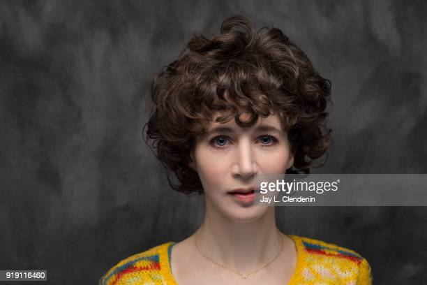 Actress Miranda July from the film 'Madeline's Madeline' is photographed for Los Angeles Times on January 22 2018 in the LA Times Studio at Chase...